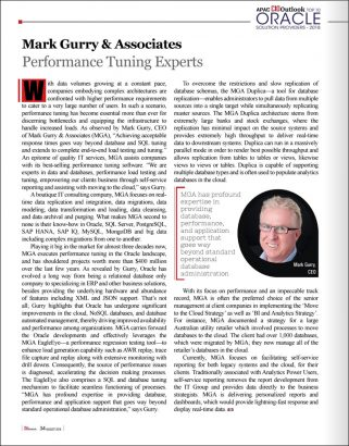 Mark Gurry featured in APAC CIO Outlook Magazine Aug 2019 - Oracle Special - 2018